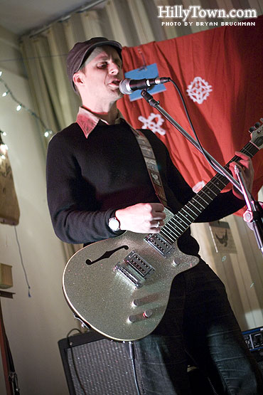 Dylan Metrano of Paper Birds @ Meg Perry Center - photo by Bryan Bruchman