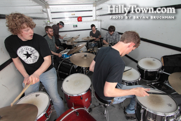 MENSK drum truck show