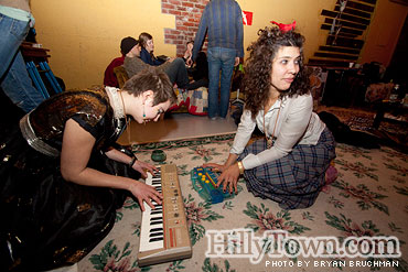 Winter Solstice 2009 at Hogfarm Studios Annex in Biddeford, Maine - photo by Bryan Bruchman