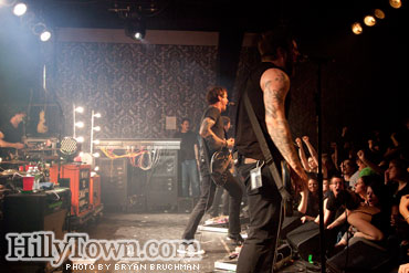 Against Me! at Port City Music Hall - Portland, Maine