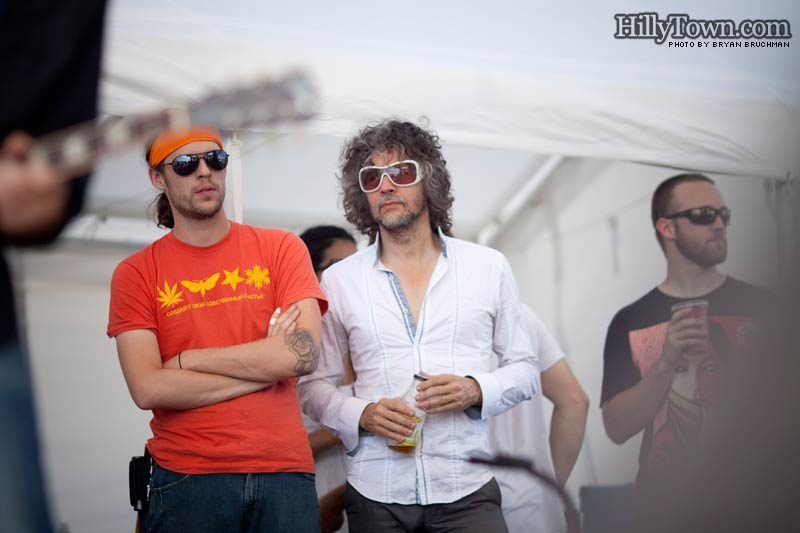 The Flaming Lips' Wayne Coyne watches Drive-By Truckers