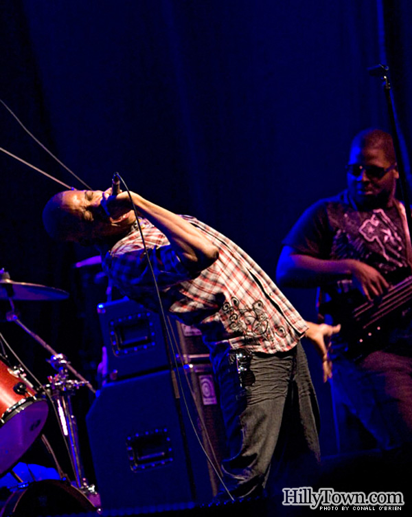 Trombone Shorty performs at Ocean Gateway